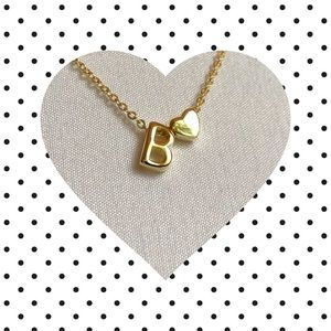 Jewelry - Letter B Initial Necklace